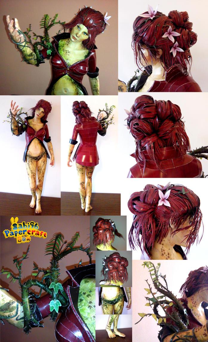 Poison Ivy (Arkham Knight) Papercraft by Sabi996