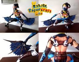 Kitana (Mortal Kombat X) Papercraft by Sabi996