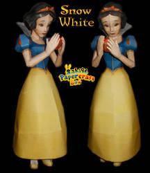 Snow White Papercraft by Sabi996