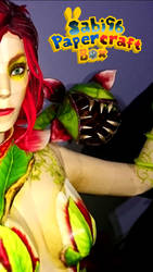 Poison Ivy (Injustice 2) Papercraft WIP