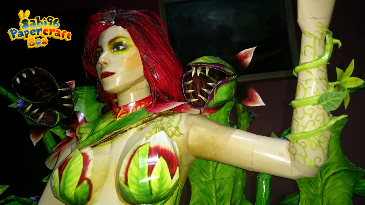 Poison Ivy (Injustice 2) Papercraft by Sabi996