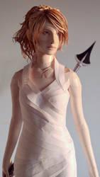 Lunafreya (Final Fantasy XV) Papercraft
