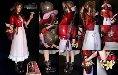 Aerith (Final Fantasy VII Remake) Papercraft