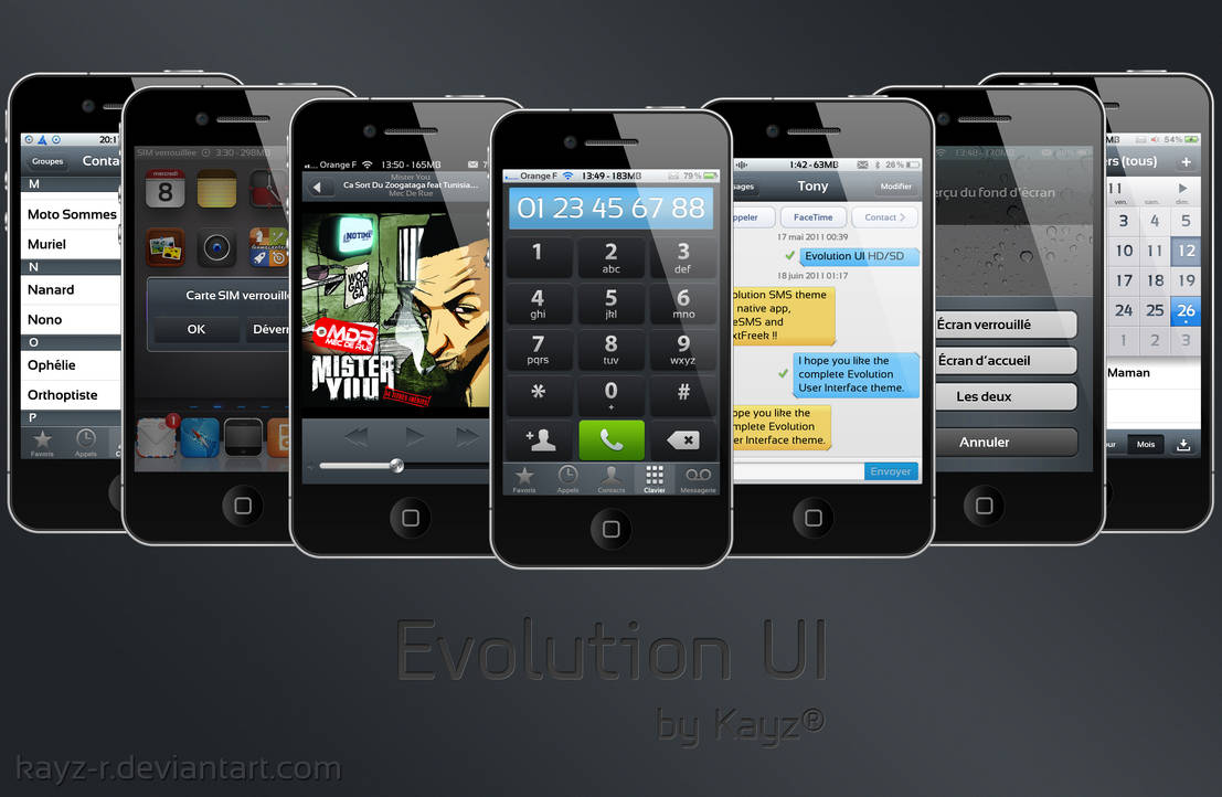 Evolution UI for iOS 5