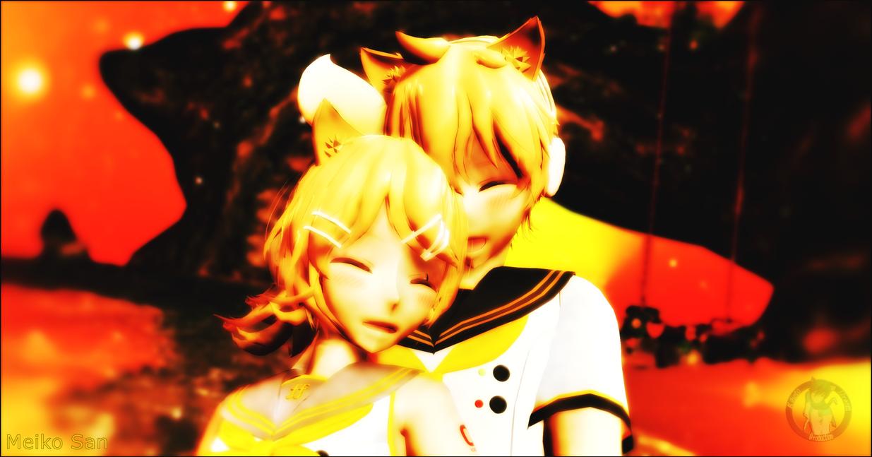 [Collab] Rin X Len   Winnergift - Vocaloid no Uta by KainaYuSakine