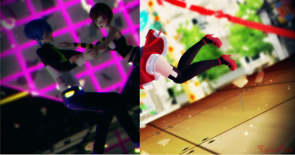 Love me, Candy Candy - Kaito x Meiko by KainaYuSakine