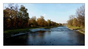ostravice river by jbzsl