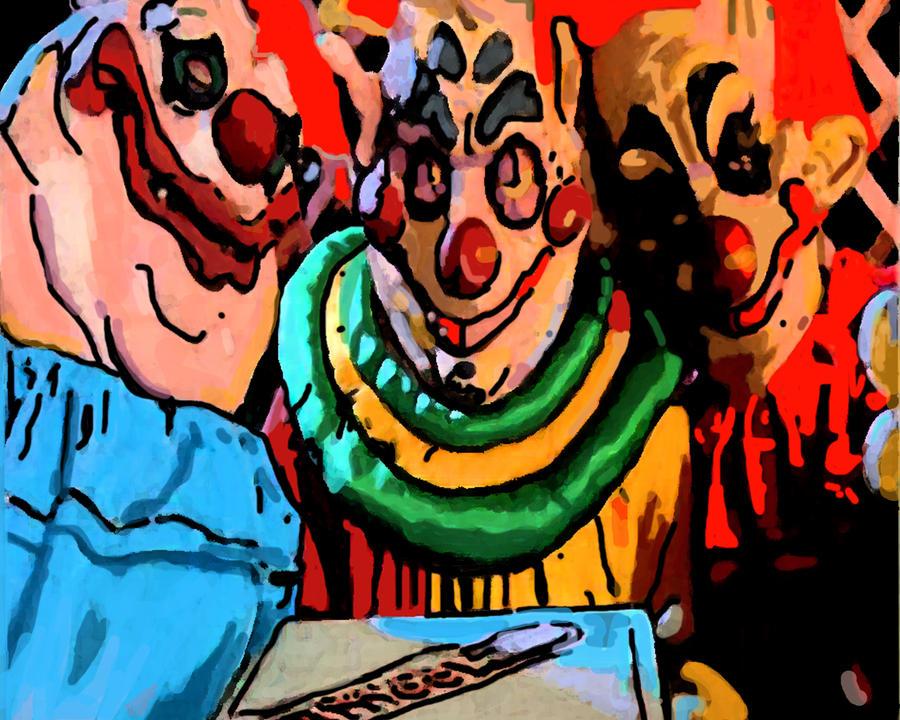 Killer klowns no 2 by ladyjart on deviantart for Killer klowns 2