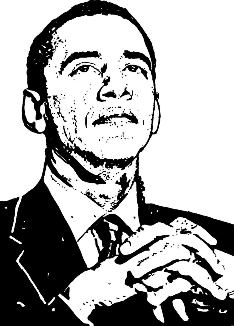 obama and coloring pages - photo #40