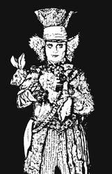 Mad Hatter.. by ladyjart