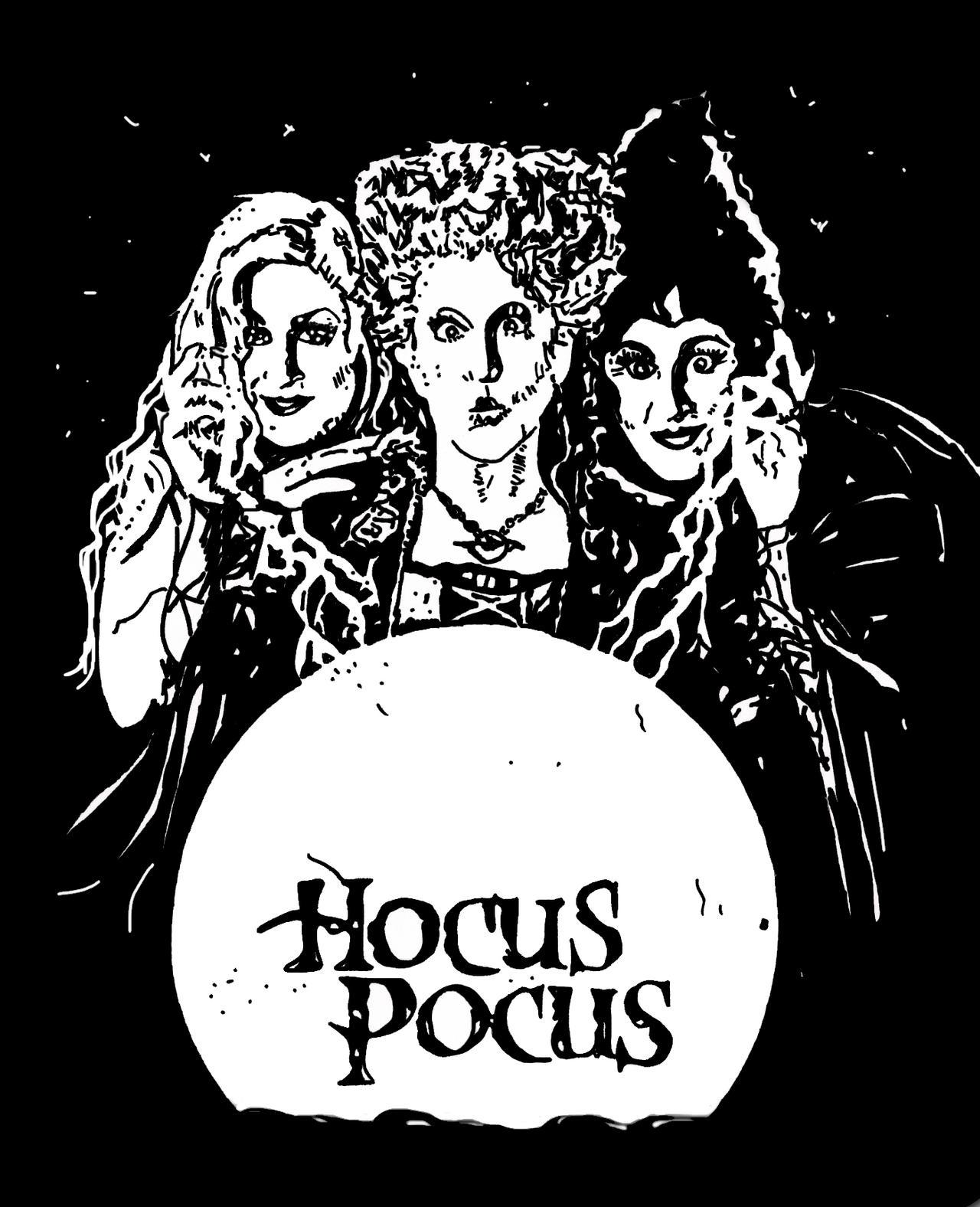 hocus pocus jpg 1280x1576 hocus pocus drawings