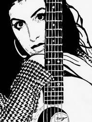 Amy Winehouse 3 by ladyjart