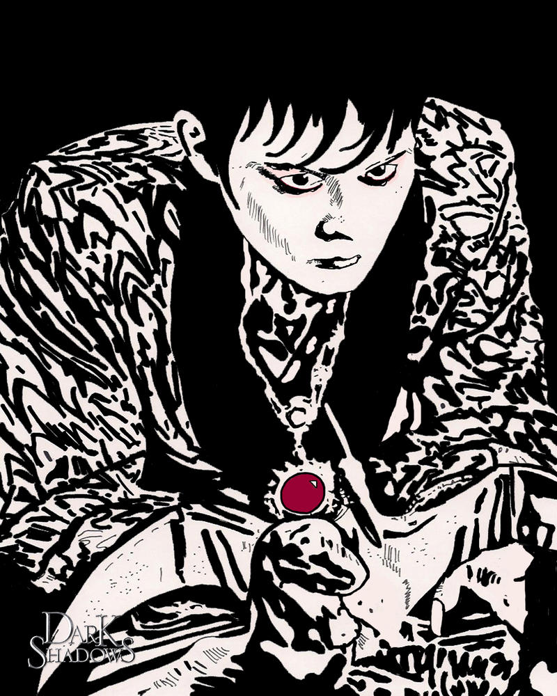 Sharpie Marker Drawing 3Barnabas Collins By Ladyjart