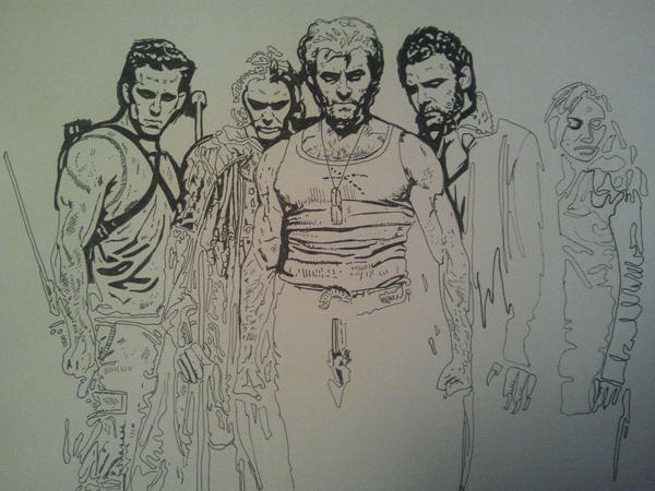 Wip for the Wolverine by ladyjart