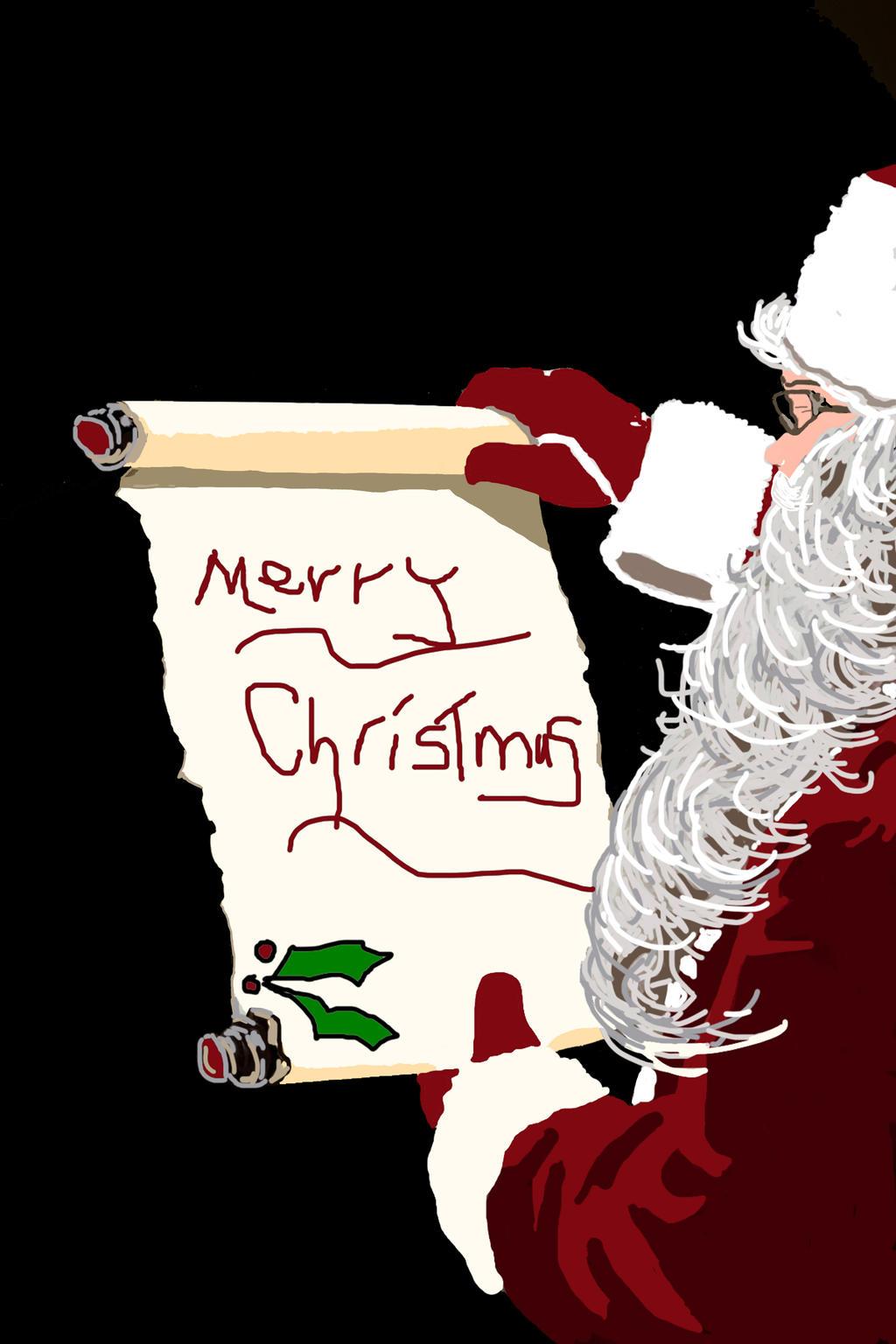 Santa Clause by ladyjart