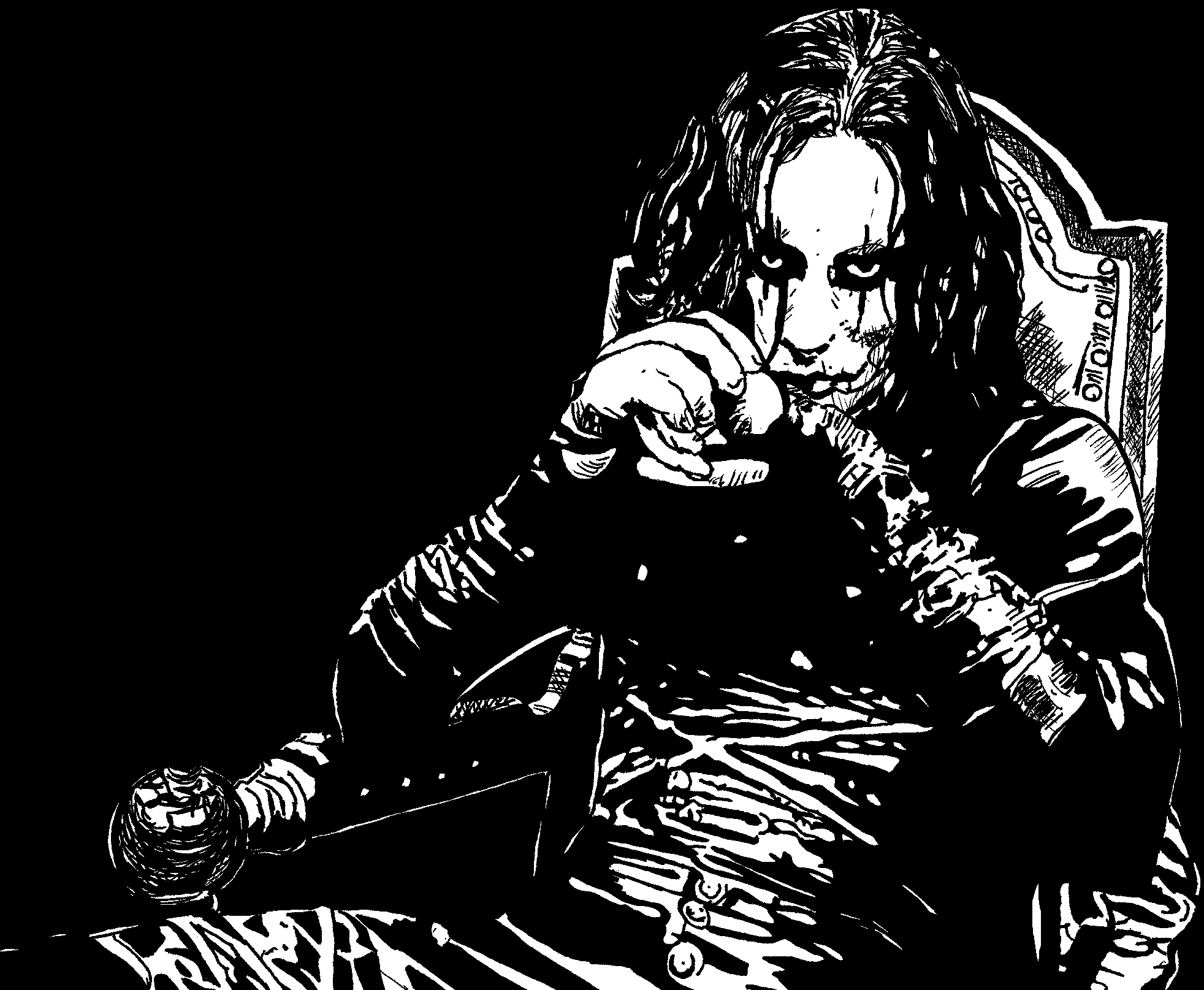 The Crow by ladyjart on DeviantArt