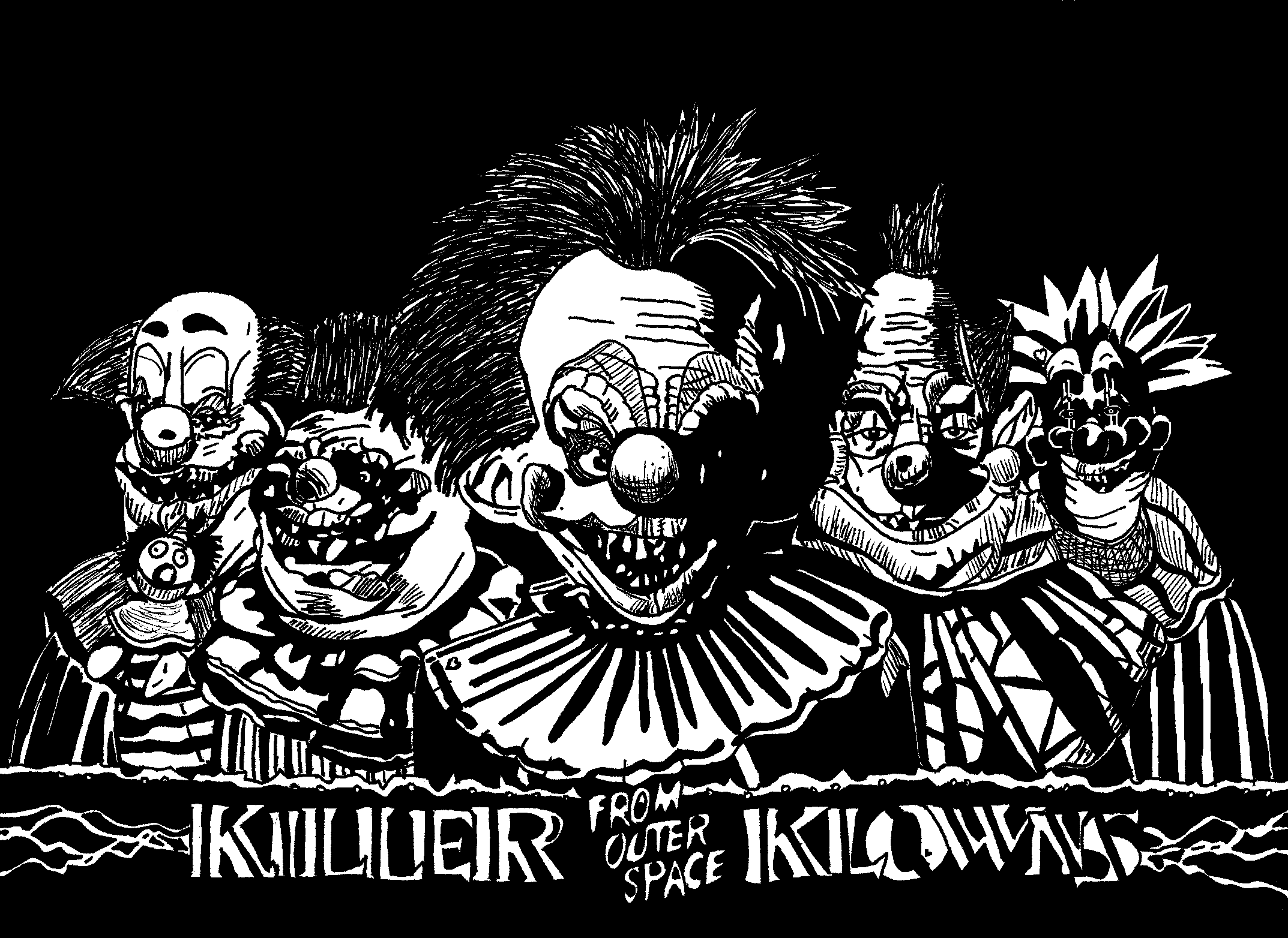 1000 images about killer klowns from outer space http for Return of the killer klowns from outer space