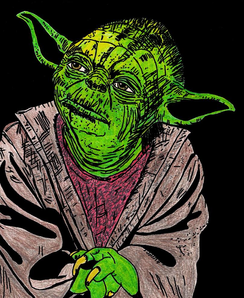 Master Yoda by ladyjart