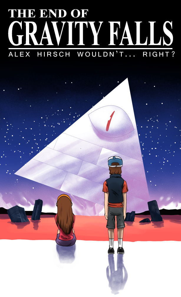 the end of Gravity Falls by Ikran