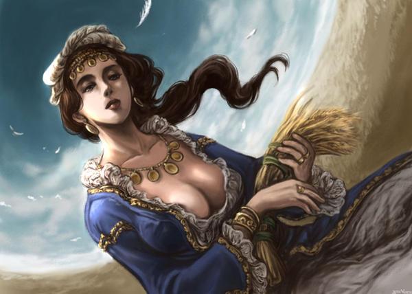 Demeter Goddess by midoriharada