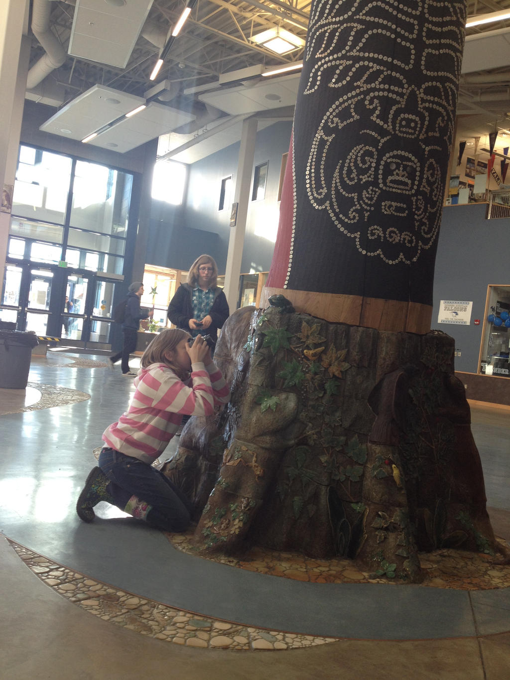 A Photographer and a Totem Pole by LittleBitOfAlaska