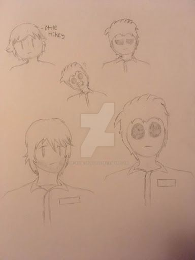 Micheal Myers Doodle by Ninjagofan0666