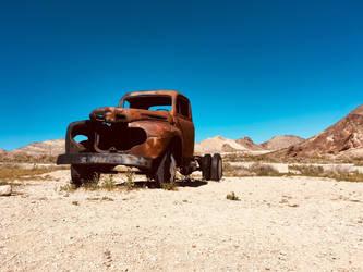 Abandoned Car by Ninjagofan0666