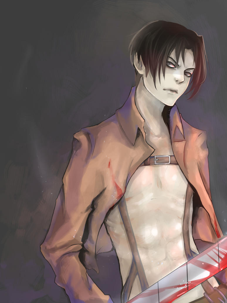 Rivaille by Zapekanka