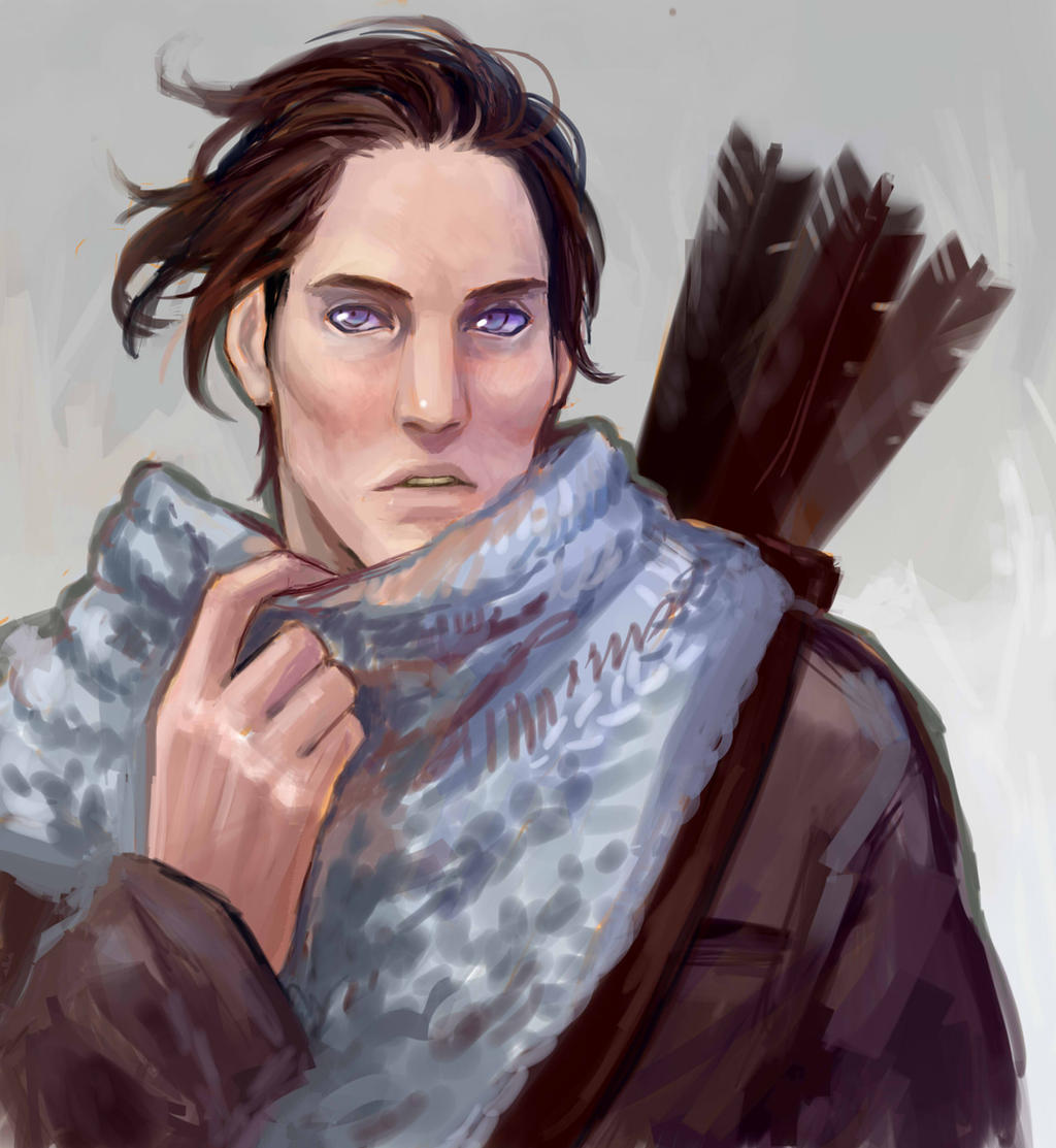 Katniss Everdeen male version by Zapekanka