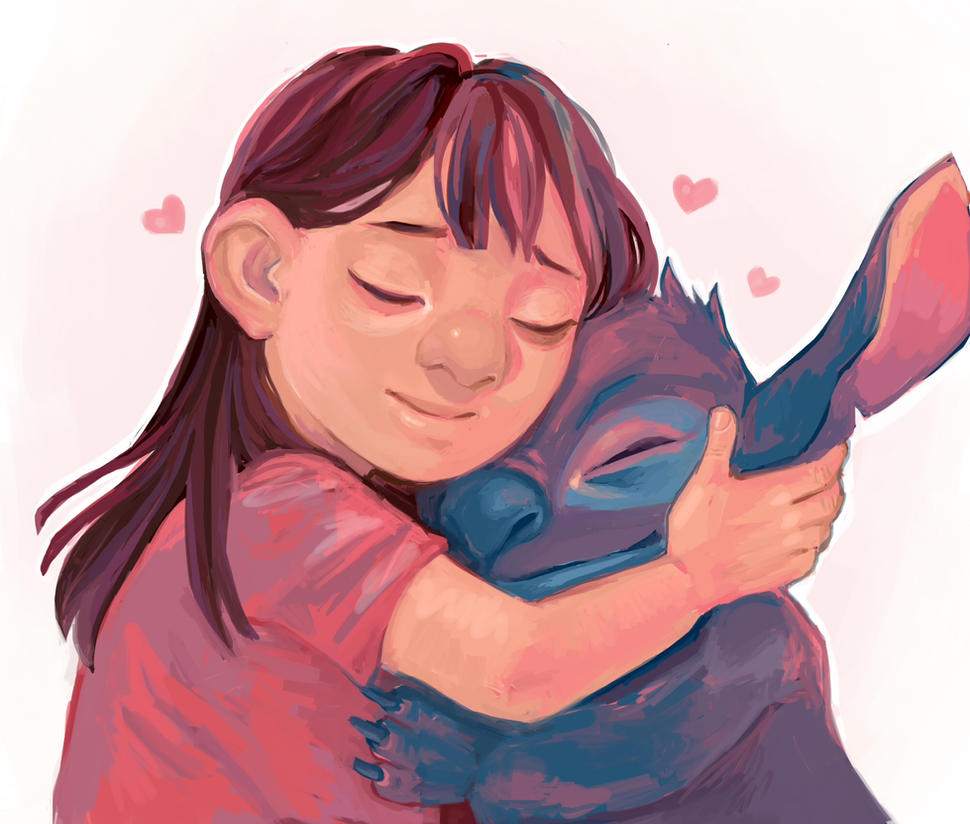 Lilo and Stitch by Zapekanka