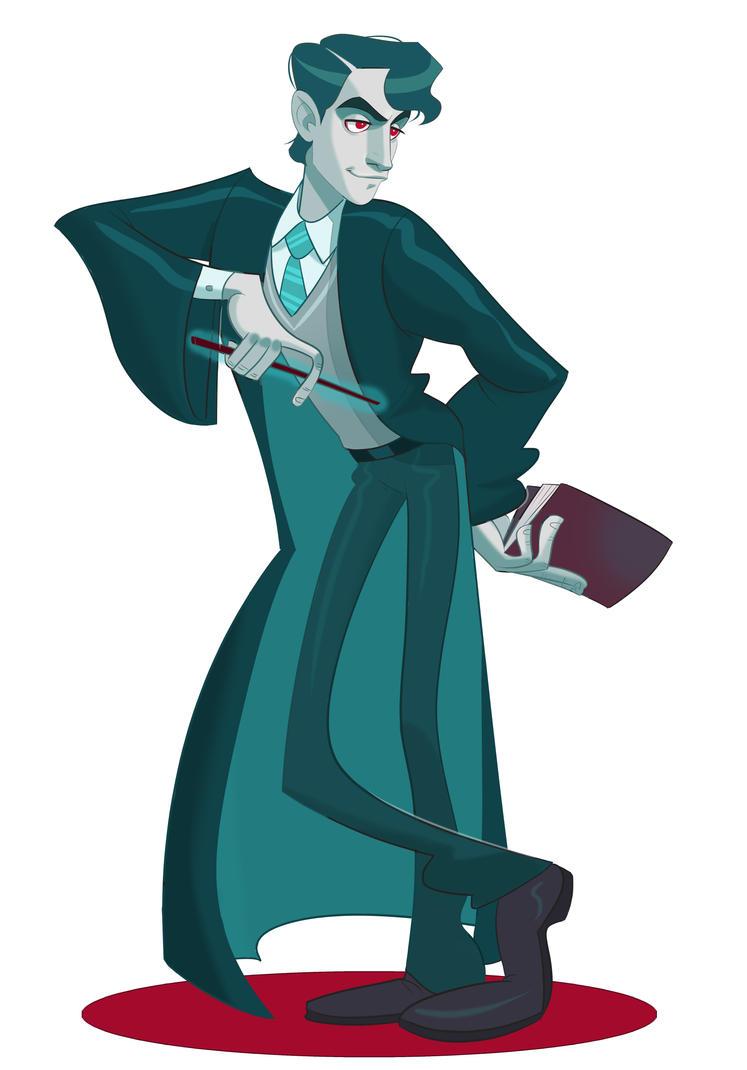 Tom Riddle by Zapekanka