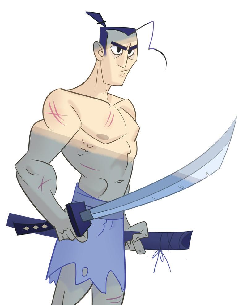 Samurai Jack by Zapekanka