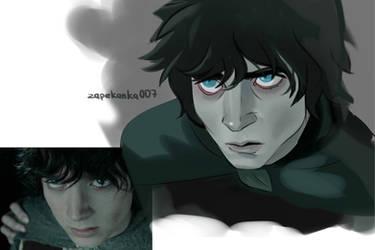 Frodo study 2 by Zapekanka