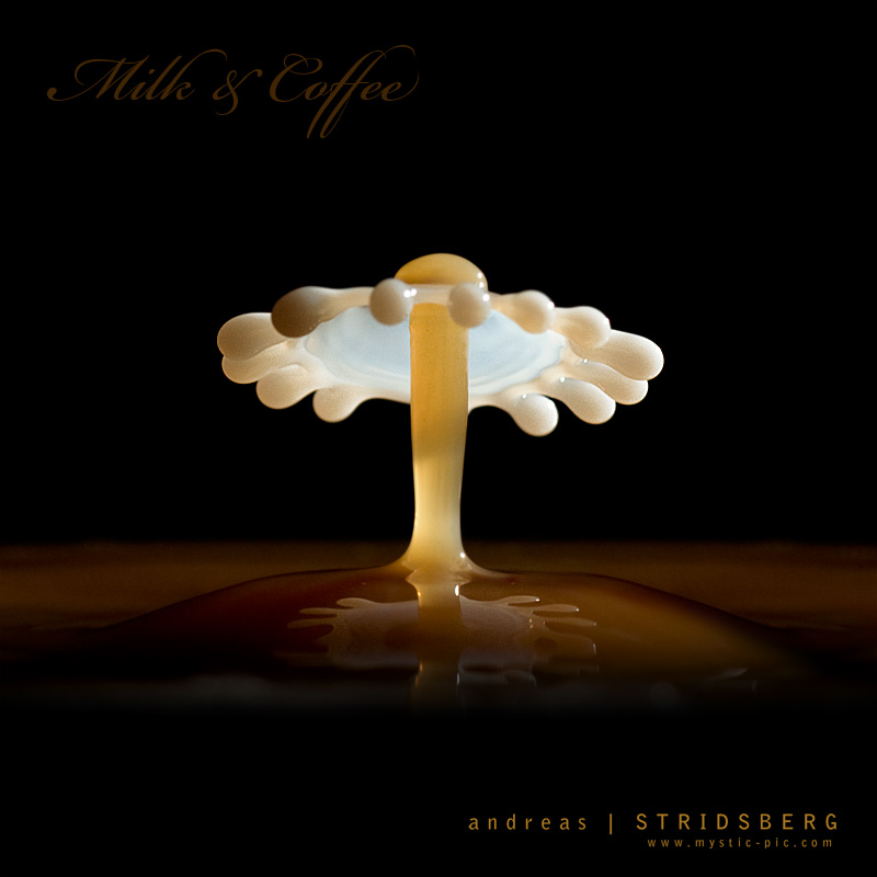 Fan of Milk...and coffee by Stridsberg