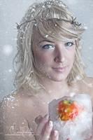 Frozen Apple by Stridsberg