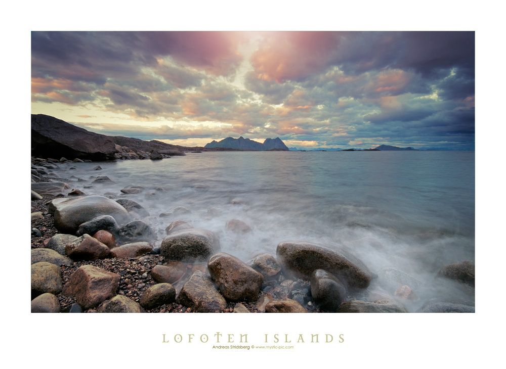 Lofoten Beach by Stridsberg