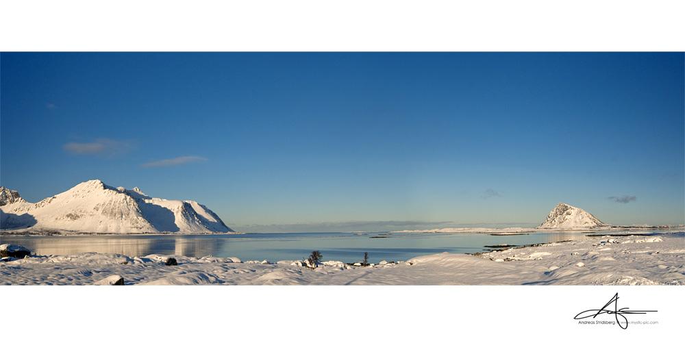Winter Pano by Stridsberg
