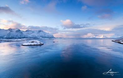 Blue dawn by Stridsberg