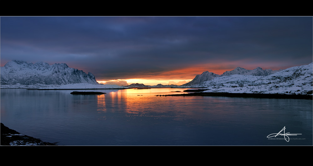 Beyond the fjord by Stridsberg
