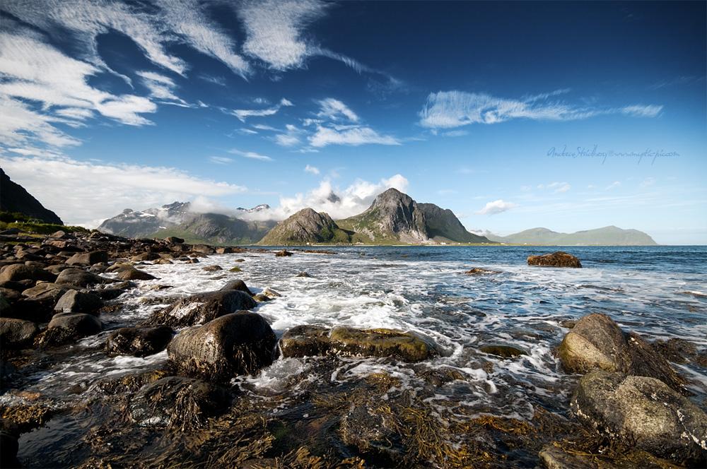 Foaming Sea by Stridsberg