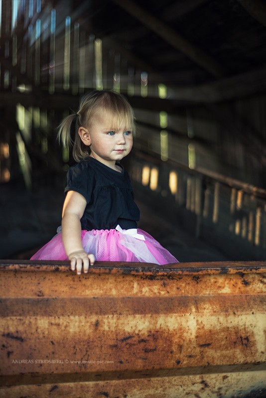 My little farm girl by Stridsberg