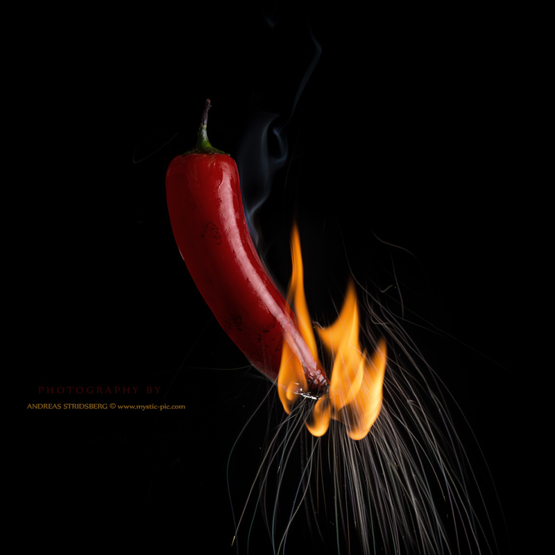 Red Hot Chili Pepper by Stridsberg