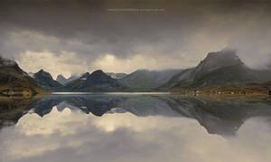 Lofoten Mirror by Stridsberg