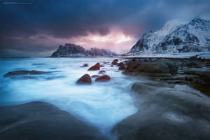Winter Afternoon by Stridsberg