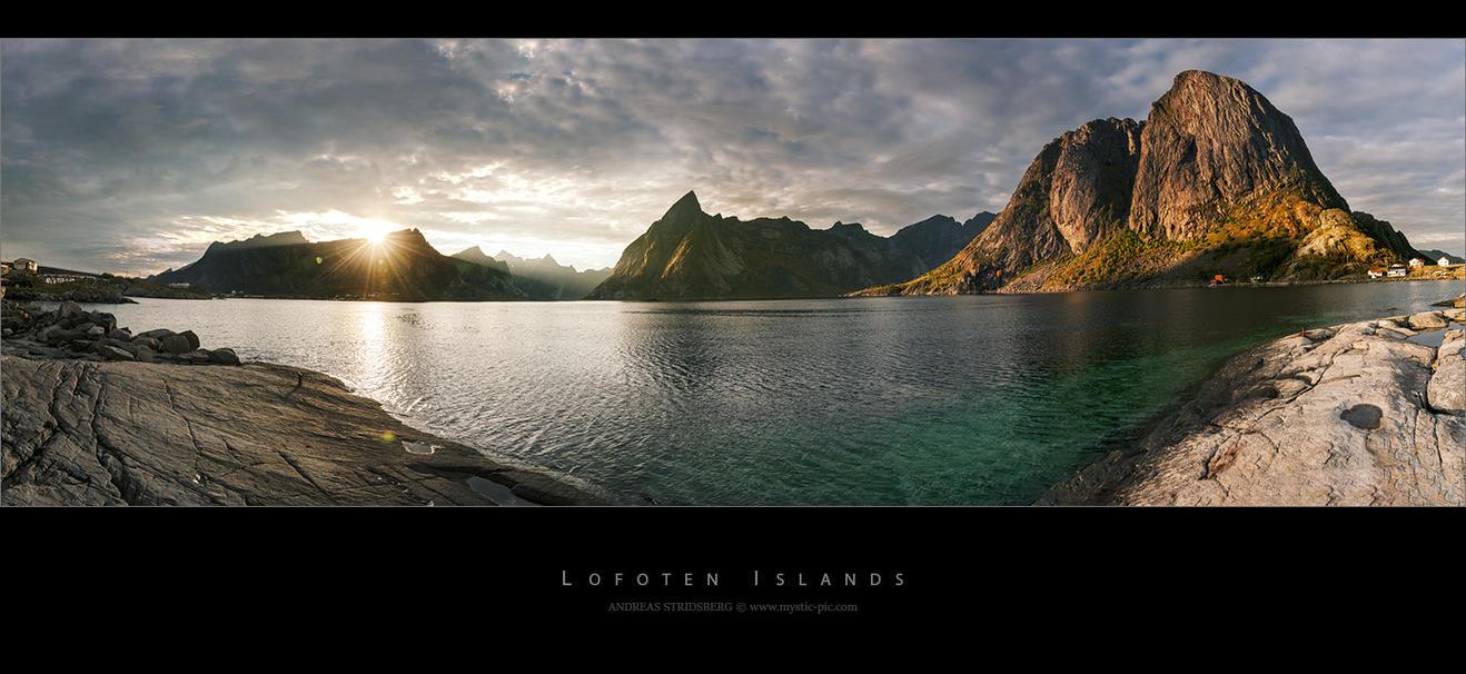 Lofoten Panorama by Stridsberg