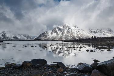Winter Reflection by Stridsberg