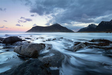 Flakstad Beach by Stridsberg