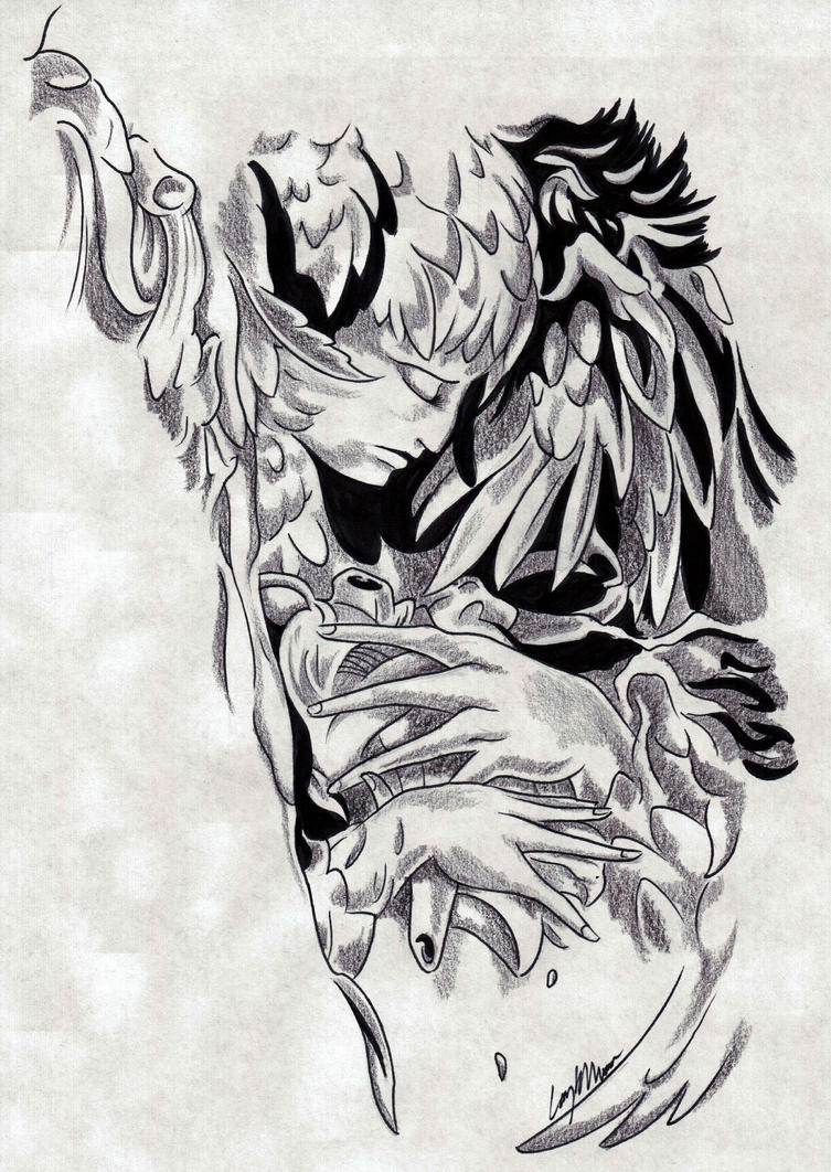 Angel Flash by NarcissusTattoos