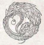 Yin Yang Ouroboros