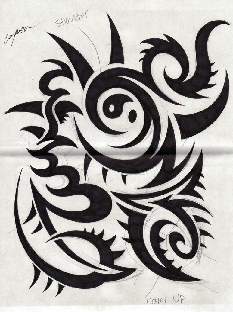 Claw tribal design by narcissustattoos on deviantart for Tribal claw tattoo